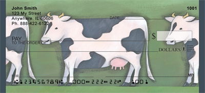 Milk Cow Parade Checks - 1