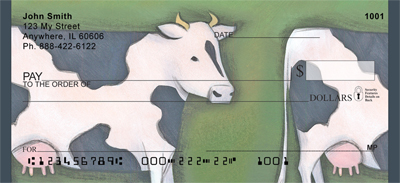 Milk Cow Parade Checks - 2