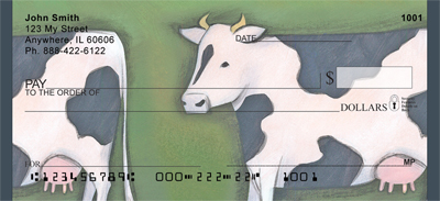 Milk Cow Parade Checks - 4