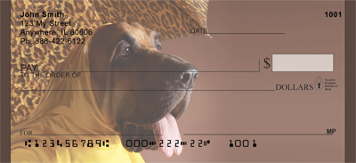 Rainy Day Bloodhound Faces Personal Checks