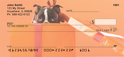 Boston Terrier Fun Personal Checks