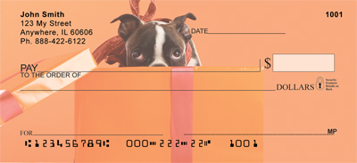 Boston Terrier Fun Checks - 3