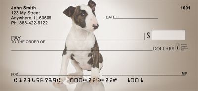 Bull Terriers Checks - 2