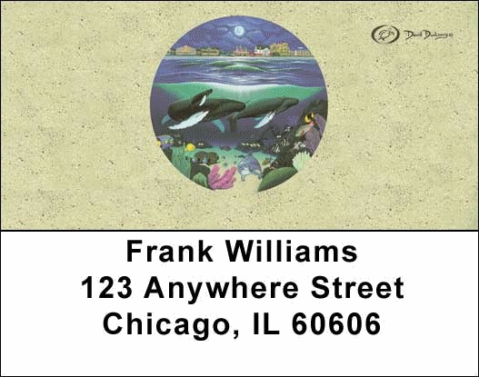 Oceans Address Labels - 2