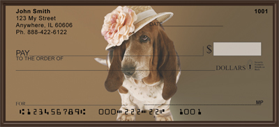 Basset Hound Fun Checks - 1