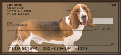 Basset Hound Fun Checks - 2