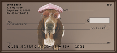 Basset Hound Fun Checks - 3