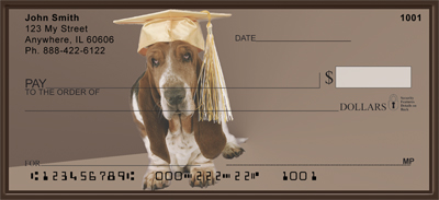 Basset Hound Fun Checks - 4