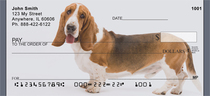 Bassets Being Bassets Checks