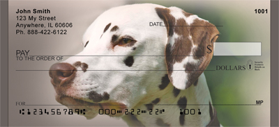 Darling Dalmatians Checks - 1