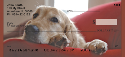 Golden Retriever Royalty Checks