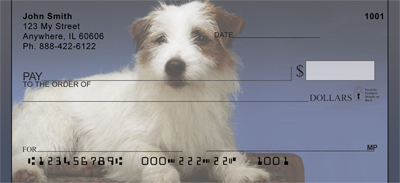 Jack Russell Terrier Portrait Checks - 4