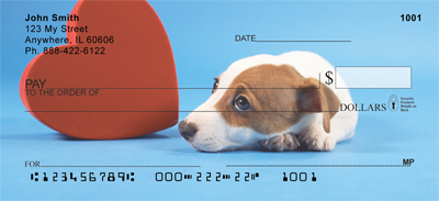 Jack Russell Terrier Puppies Personal Checks