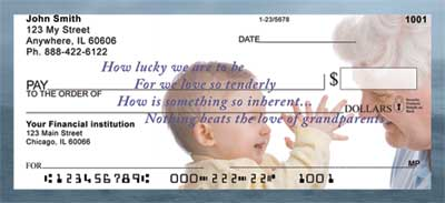 Grandparents Love Checks - 2