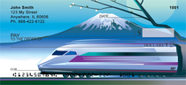 Mount Fuji and Bullet Train Checks