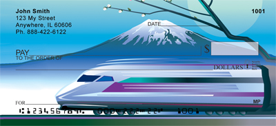 Mount Fuji and Bullet Train Checks - 1