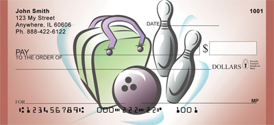 Bowling Fun Checks - 3