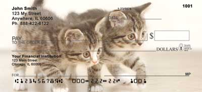 Cute Kittens Checks - 1