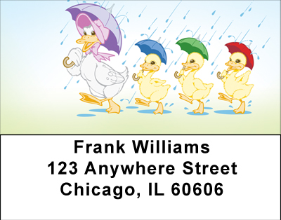 Ducks On Parade Labels - 1