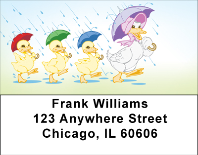 Ducks On Parade Labels - 3