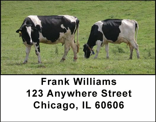 Farm Animals Address Labels - 4