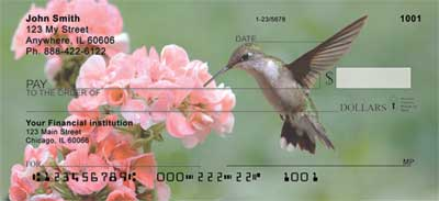 Hummingbirds Checks - 3
