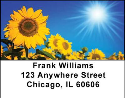 Sunflowers Address Labels - 1