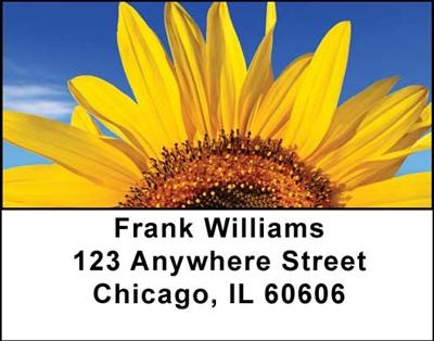 Sunflowers Address Labels - 2