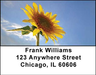 Sunflowers Address Labels - 4