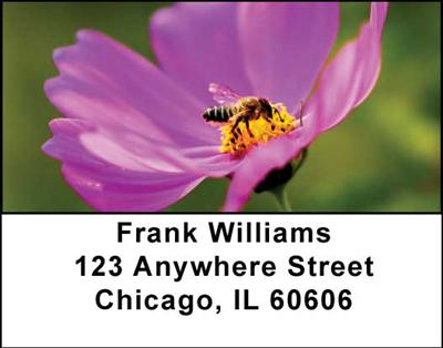 Bees Address Labels - 1