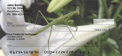 Praying Mantises Checks - 1