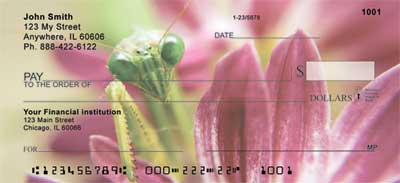 Praying Mantises Checks - 3