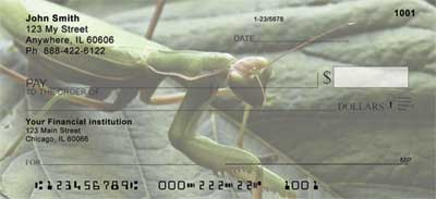 Praying Mantises Checks - 4