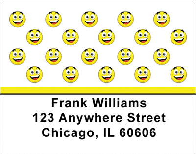 Smilies Address Labels - 1