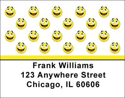 Smilies Address Labels - 3