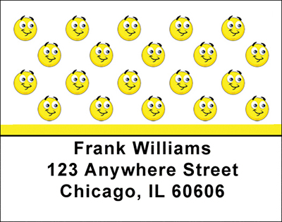 Smilies Address Labels - 4