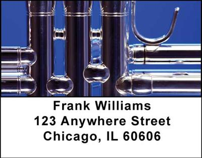 Trumpets Address Labels - 1