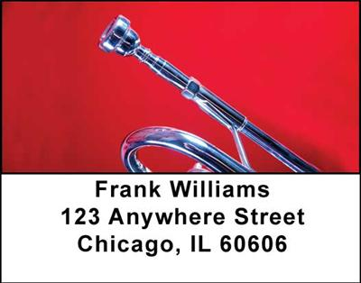 Trumpets Address Labels - 2