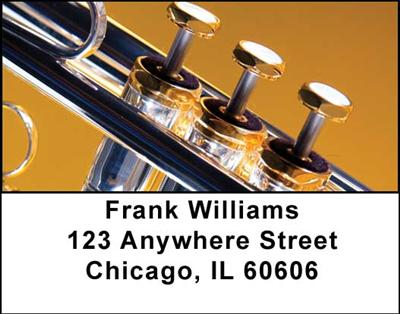 Trumpets Address Labels - 3