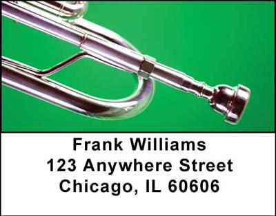 Trumpets Address Labels - 4
