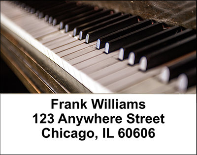 Pianos Address Labels - 1