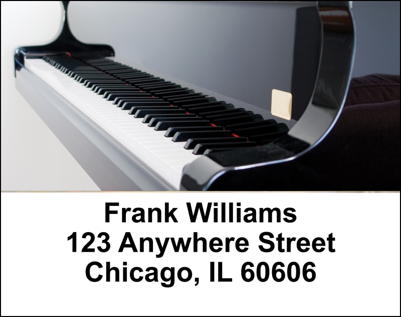 Pianos Address Labels - 4