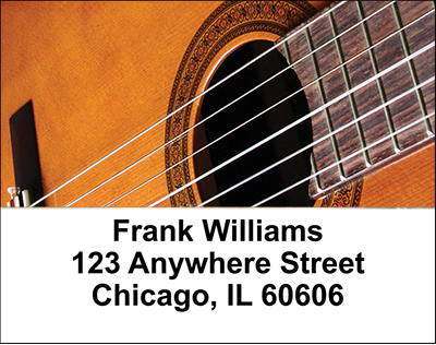 Guitars Address Labels - 4