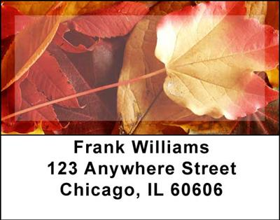Foliage Address Labels - 4