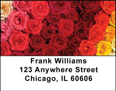 Roses Address Labels - 3