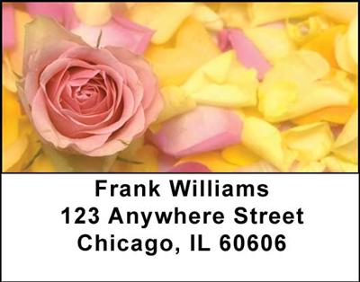 Roses Address Labels - 4