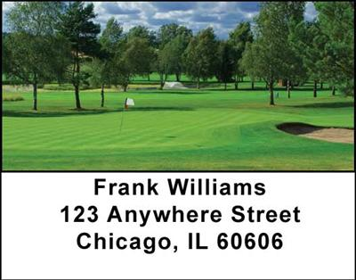 Scenic Courses Address Labels - 1