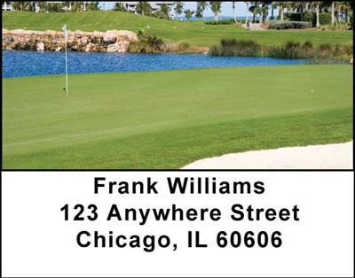 Scenic Courses Address Labels - 2
