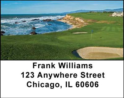 Scenic Courses Address Labels - 3