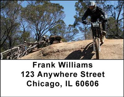 Mountain Bikes Address Labels - 2